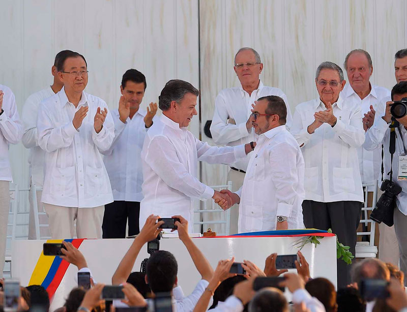 Colombia, más allá de la última firma