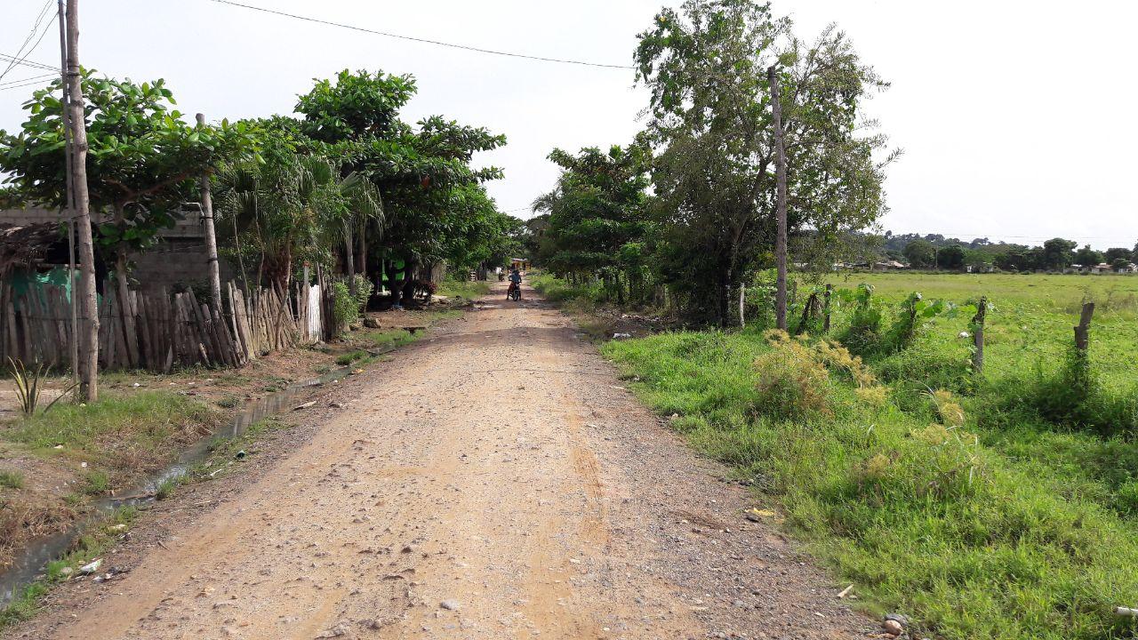 Última calle del barrio 9 de agosto, donde vivía María del Pilar Hurtado. Foto Bibiana Ramírez