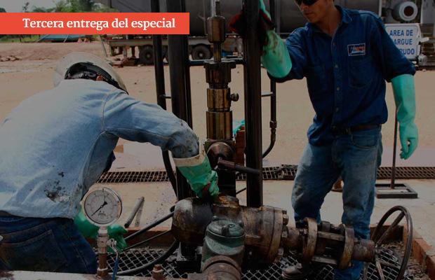 Buscando petróleo en tierras de las Farc