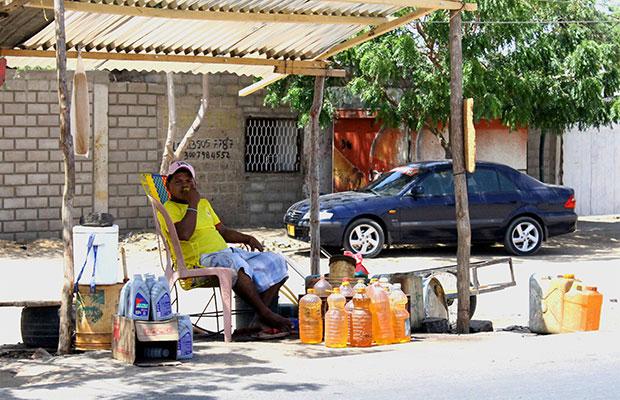 Contrabando de combustible Guajira