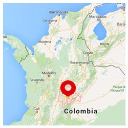 Ubicación de la región del Catatumbo