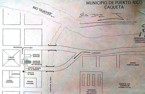 masacre puerto rico mapa