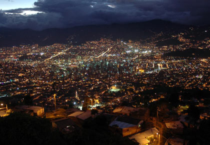 Panorámica de Medellín