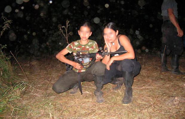 mujeres guerrilla erg 1