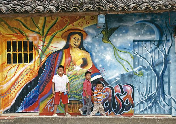 Indígenas en el Cauca