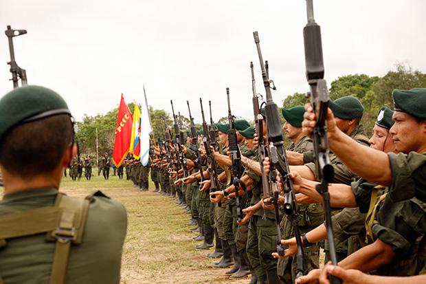 Campamento armas Farc