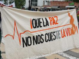 Tras la muerte de 282 defensores de derechos humanos y líderes sociales, el Estado colombiano emitió una alerta temprana para protegerlos