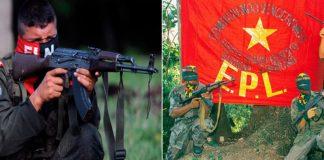 Guerra en el catatumbo entre el Eln y el Epl