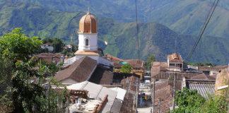 Panorámica del municipio de Ituango, Antioquia.