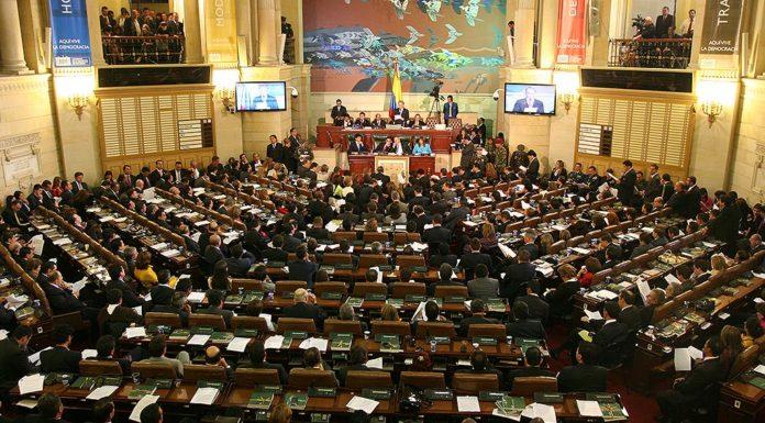 Nuevo Congreso de la República de Colombia, elegido el 11 de marzo de 2018