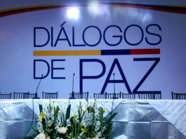 Mesa de negociaciones de Quito del gobierno de Colombia y el ELN