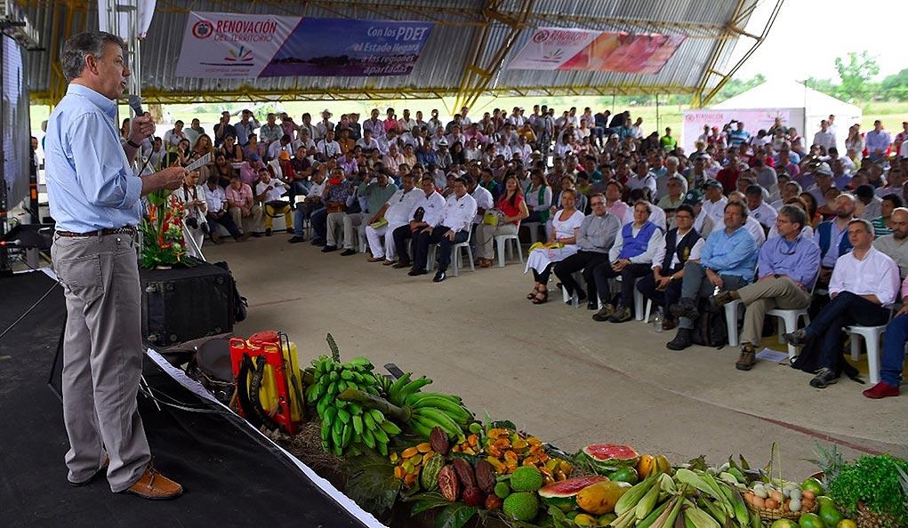 Implementación Reforma Rural del proceso de paz