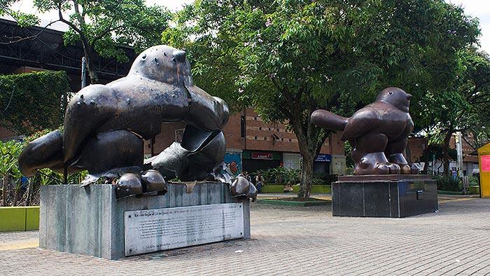 arte y memoria histórica en Medellín.