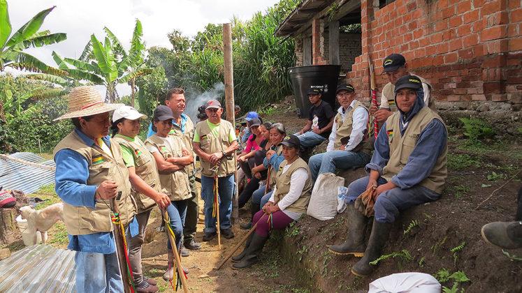 Guardia Campesina y Popular de Antomoreno, Sotará