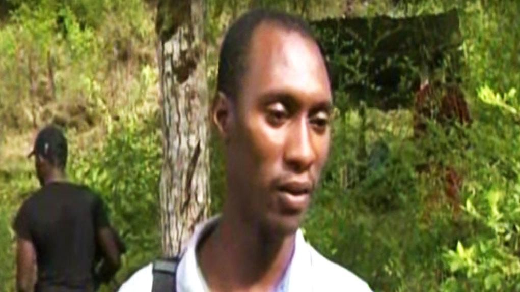 'Guacho' durante la entrevista concedida al noticiero RCN. Foto: Captura de video.