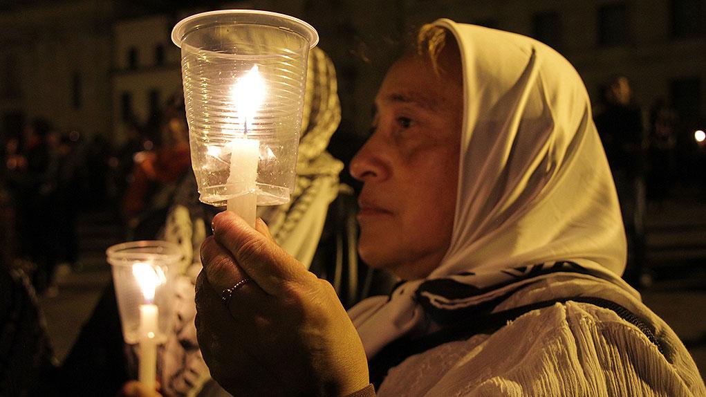 Velatón en Colombia por los líderes sociales asesinados