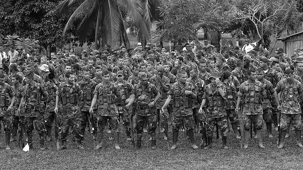 Paramilitares. Foto: archivo Semana.