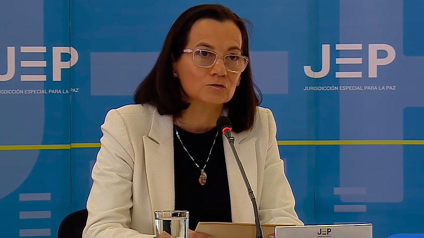 Clara Rojas en la JEP